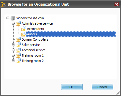 Browse by Organizational Unit