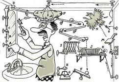 Rube Goldberg's machine