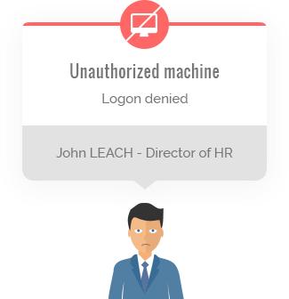 Unauthorized machine