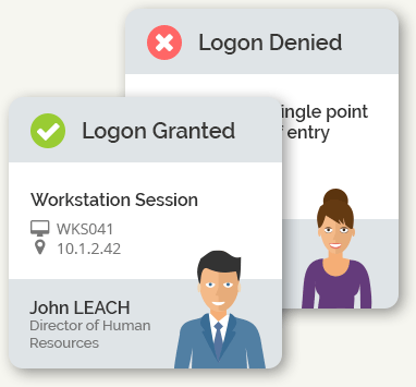 Logon Granted / Denied