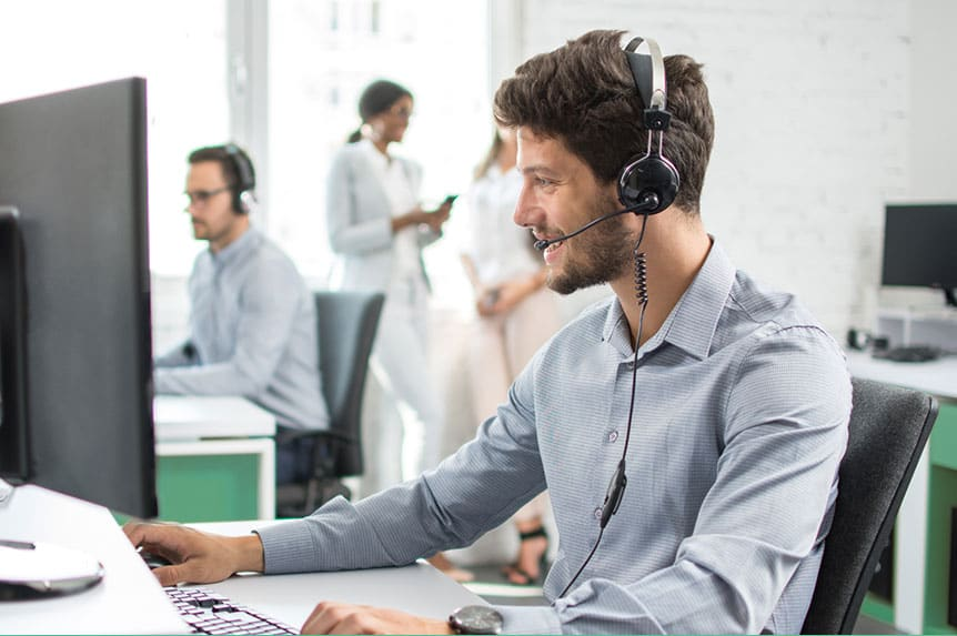 Security software in a Call Center should avoid frustration