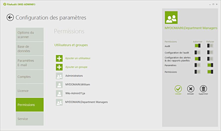 Utilisez une astuce pour améliorer la sécurité des fichiers - délégation utilisateur