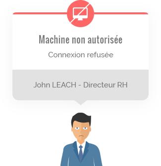 Machine non autorisées