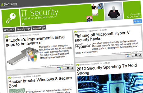 our IT Security ScoopIT page