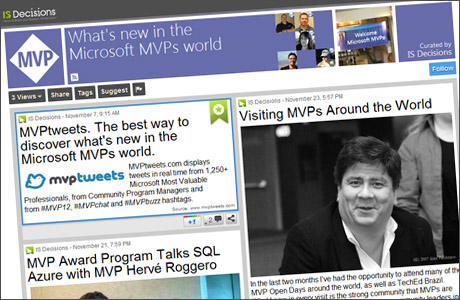 our MVP ScoopIT page