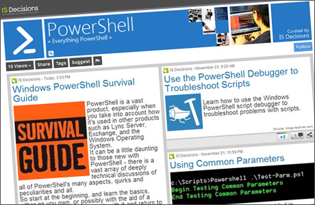 our Powershell ScoopIT page