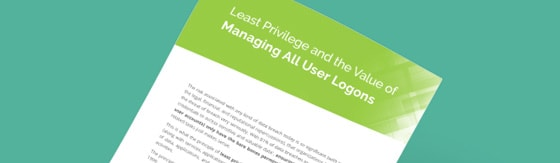 Least Privilege and the Value of Managing All User Logons