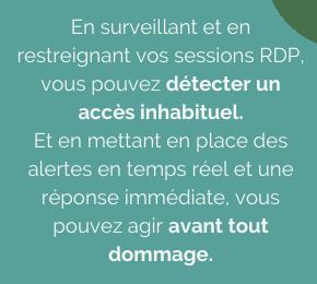 Surveiller toutes les sessions distantes (RDP)