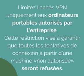 Securiser les connexions VPN
