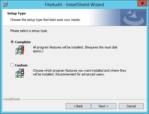 Installation of FileAudit 5