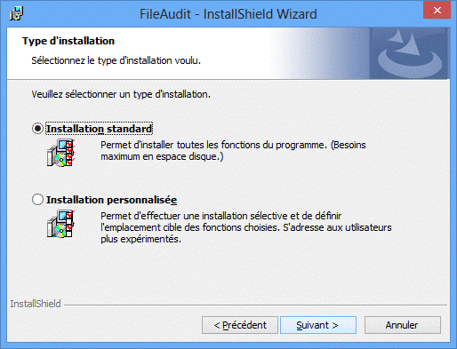 Installation de FileAudit 5
