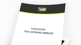 UserLock est évalué par IT Security Guru