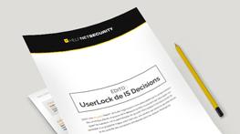 UserLock est évalué par HelpNet Security